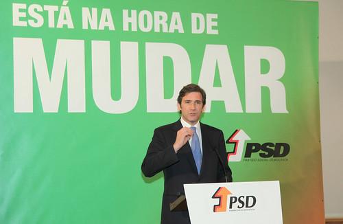 Pedro Passos Coelho no encerramento do Congresso Distrital do PSD-Viseu-