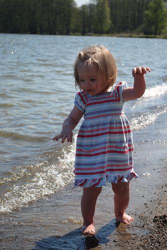 Penny at the lake