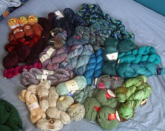 Stash - non-wool yarn
