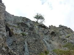 Montée au sommet du Castellacciu par la face Sud : le sommet et le ressaut final