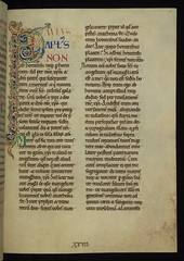 Illuminated Manuscript, The Rochester Bible, W...