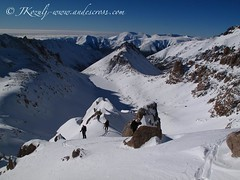 classic views of bariloche backcountry