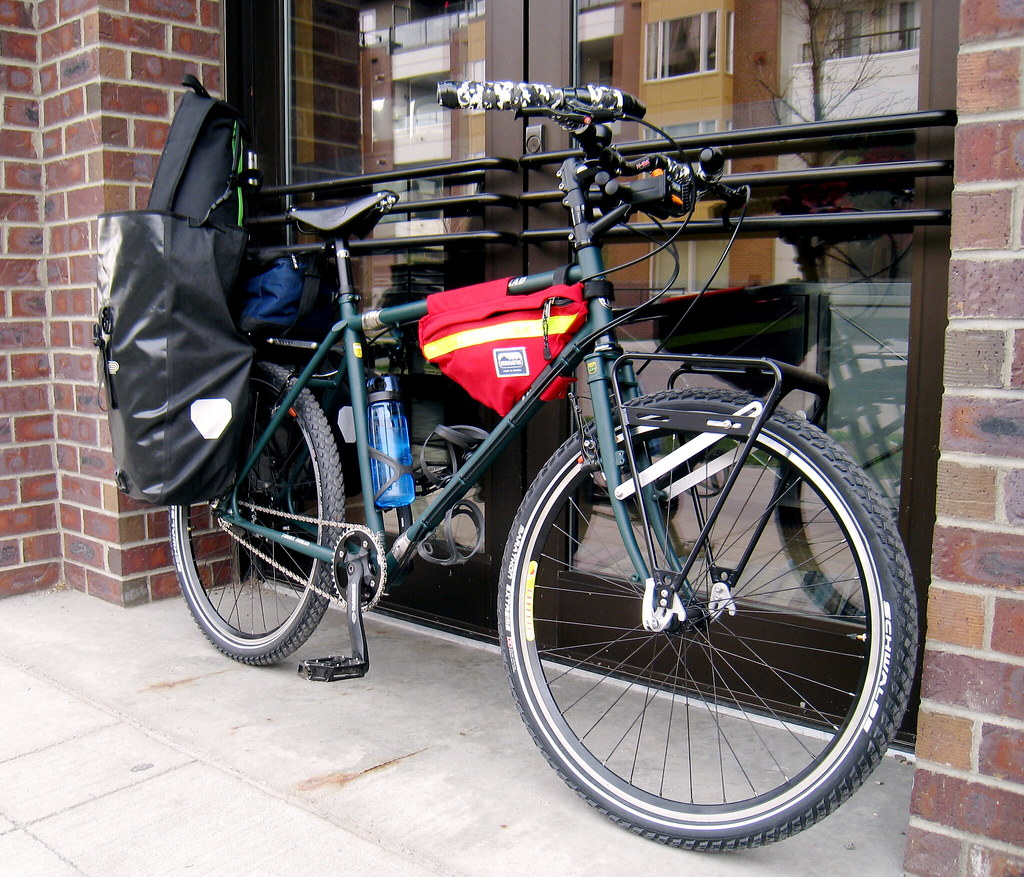 Front Rack For Fork With No Braize Ons Or Eyelets Bike