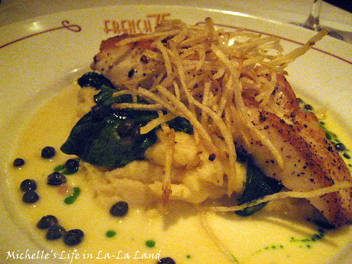 French 75- Halibut 'Picholine'