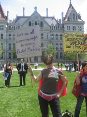 Albany protest (The Rachel Maddow Show) Tags: protest cape gaymarriage civilrights msnbc rachelmaddow therachelmaddowshow