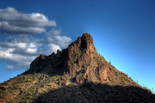 Picacho Peak in Arizona.