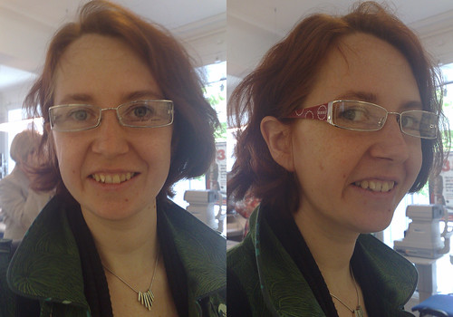 Help me pick my new glasses. These are No 1.