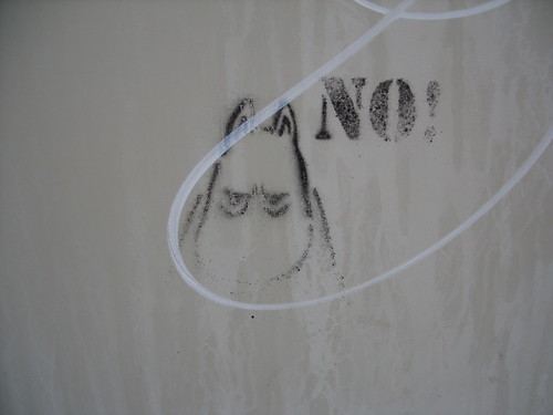 angry moomin stencil
