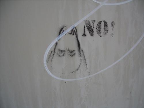 angry moomin stencil