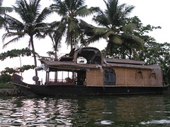 Our houseboat (rheabeddoenyc) Tags: india kerala backwaters alleppey