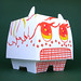 'Wilfred' Custom Speakerdog Paper Toy