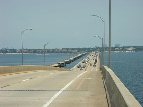 Bridge outside of Pensacola...