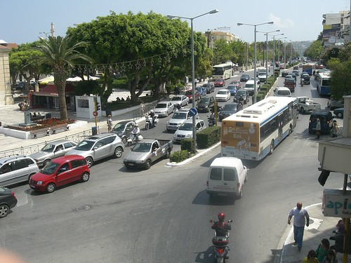 traffic hania chania