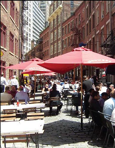 Stone Street, Manhattan (courtesy NYCDOT)