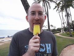 Free Pineapple Popsicle: Score!