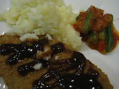 Dinner - Veggie Schnitzel
