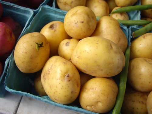 Potatoes from HW Organics