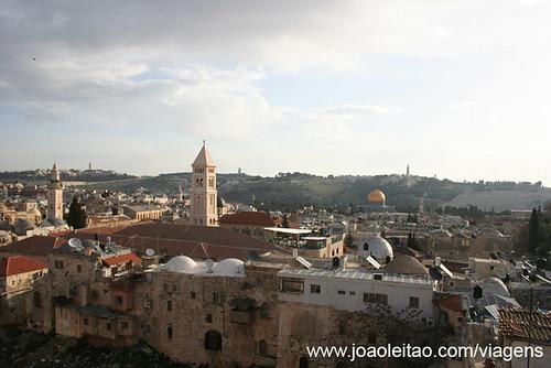 Vista de Jerusalém em Fevereiro 2008