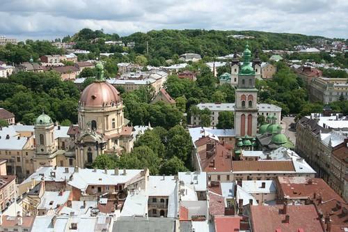 Conjunto do Centro Histórico de Lviv Ucrânia