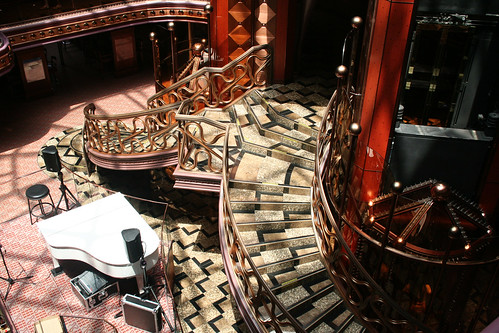 Carnival Elation - Staircase