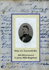 "Front Cover ""Diary of a Tamworth Boy"""