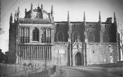 Monasterio de San Juan de los Reyes (Toledo) hacia 1955. Foto García Garrabella