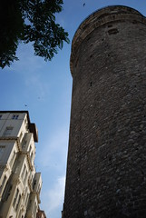 Galata Tower in Istanbul (Let Ideas Compete) Tags: travel tower stone architecture turkey masonry istanbul tourist tourists historic cylinder historical attraction galata galeta touristcity muslimcountry landmary secularcountry