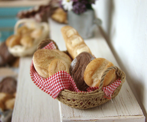 Miniature food - Bread