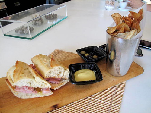 Ham Sandwich at LA MILL