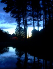 dawnblue | hajnalkk (artkele) Tags: blue trees lake dawn hungary blurred reflect t magyarorszg mtra hajnal kk tkrzds fk elmosdott artkele ballacsnge csngeballa