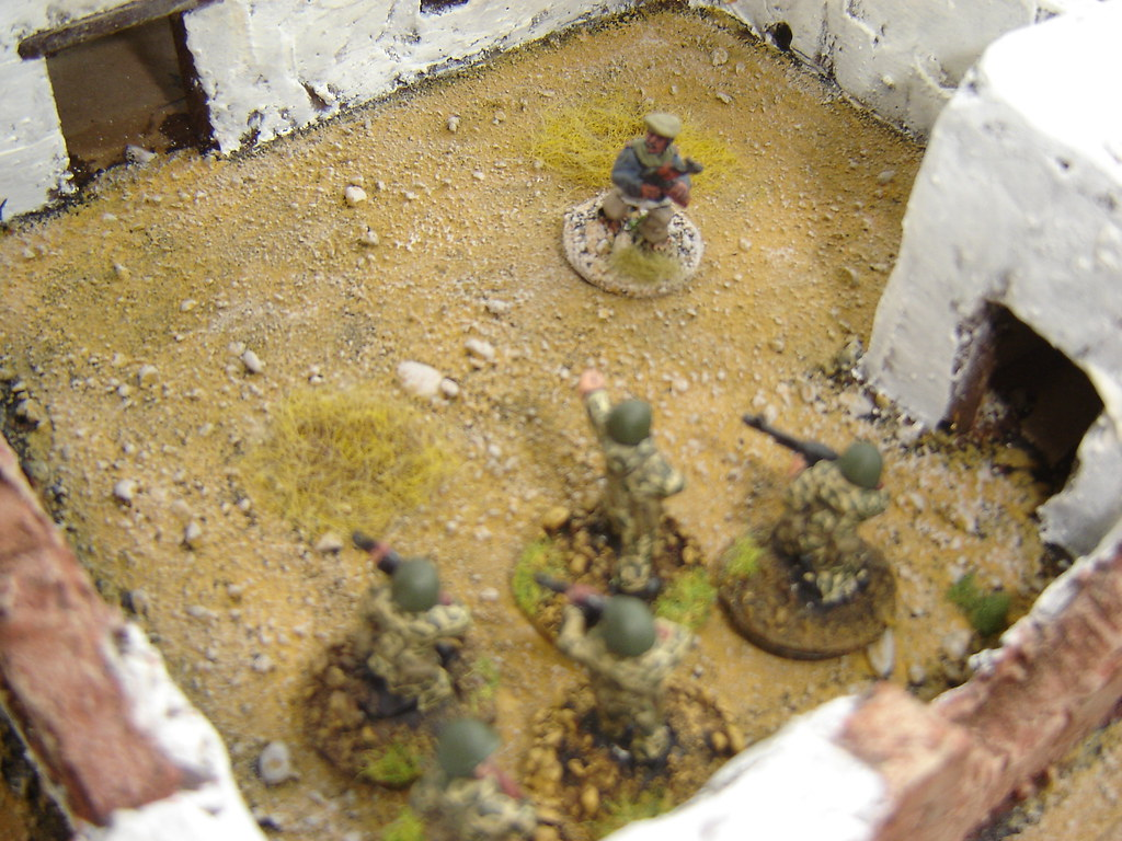 Regulars assault yard