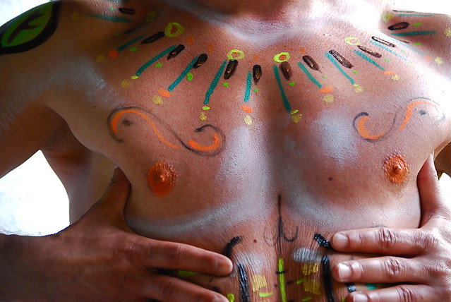 body paint and graffiti design 4