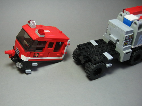 Flickriver Photoset Instructions Lego Wildland Fire Engine By