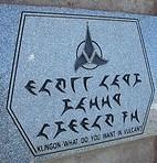 Klingon sign by Falashad