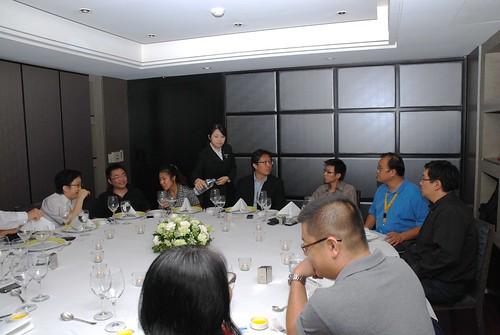 與 Dell 中國區許副總裁吃飯