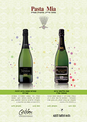 Pasta-Mia - Wines of the Month (Studio Florielle) Tags: green bottle wine bubbles sparkling wines pastamia 攝影發燒友 designpastamiawinewinesgreenbottlebubblessparkling