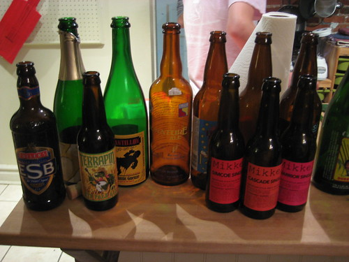 How <i>not</i> to have a productive beer tasting