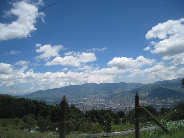 View of Medellin valley