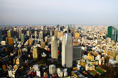 View of Tokyo from Tokyo Tower, Japan (fabriziogiordano23) Tags: travel sky panorama holiday tower japan skyline tokyo asia view vista tokyotower nippon distillery viaggi japon giappone vacanze beautifulphoto enstantane flickraward astoundingimage flickrestrellas flickrlovers grouptripod mygearandme