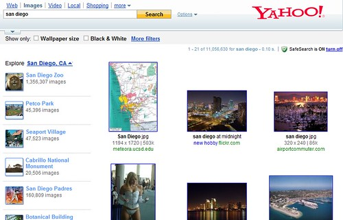 Yahoo image results
