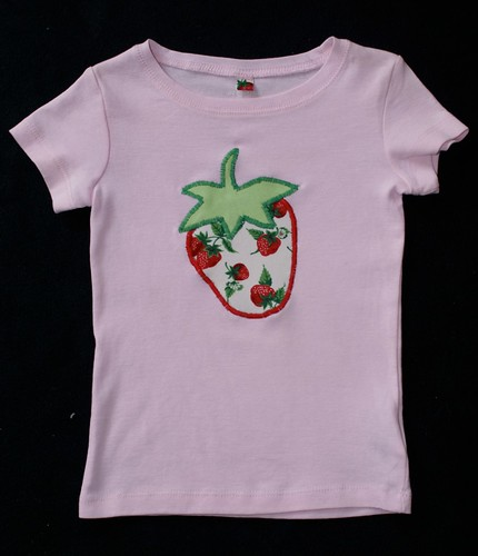 Strawberry T-shirt by you.