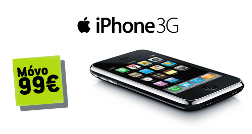 iPhone 3G Cosmote Banner
