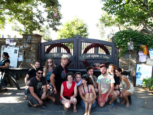 The gang at Neverland