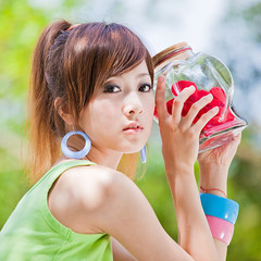 (swanky) Tags: portrait people woman cute girl beauty canon asian eos model asia pretty taiwan babe  2009 taiwanese   nsp   mikako   mikako1984  5dmarkii 5d2 5dmark2 niceshotphoto