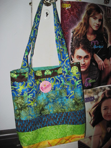 ticky tacky tote for Elizabeth