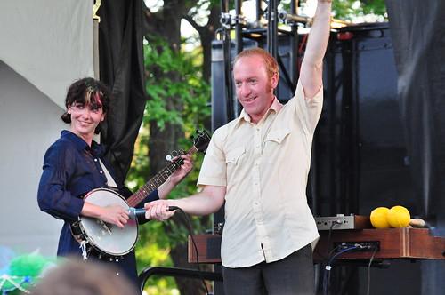 Okkervil River at Ottawa Bluesfest 2009