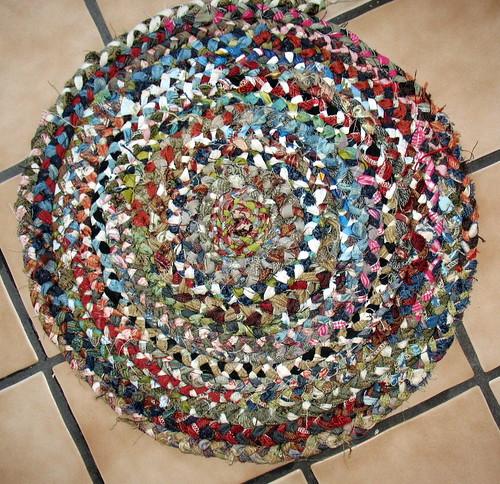 Braided rug