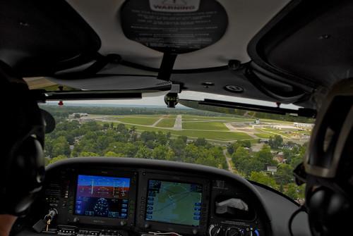 Final Approach Bowman Field Louisville, Kentucky
