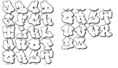 graffiti fonts bubble. Bubble graffiti font
