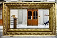 Calvin is back (edouardv66) Tags: street city urban color 35mm switzerland town nikon suisse geneva stage nikkor rue oldtown genève urbain vielleville protestantism scène sortiephoto d700 thereformation calvin500thanniversary